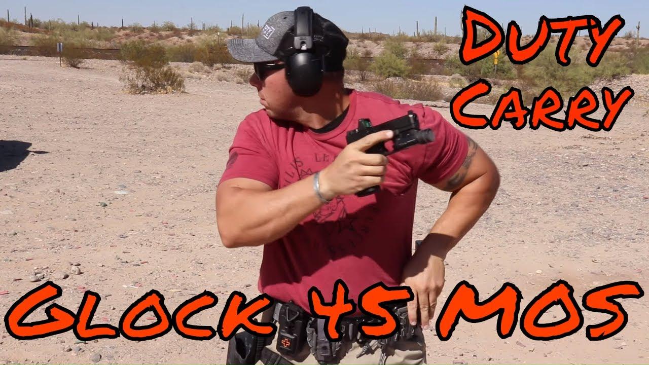 Glock 45 MOS | My New RMR Duty Gun Review