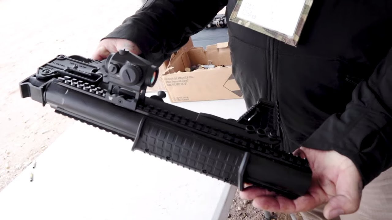 Kel-Tec Sub 2000 CQB Integrally Suppressed SHOT Show 2020