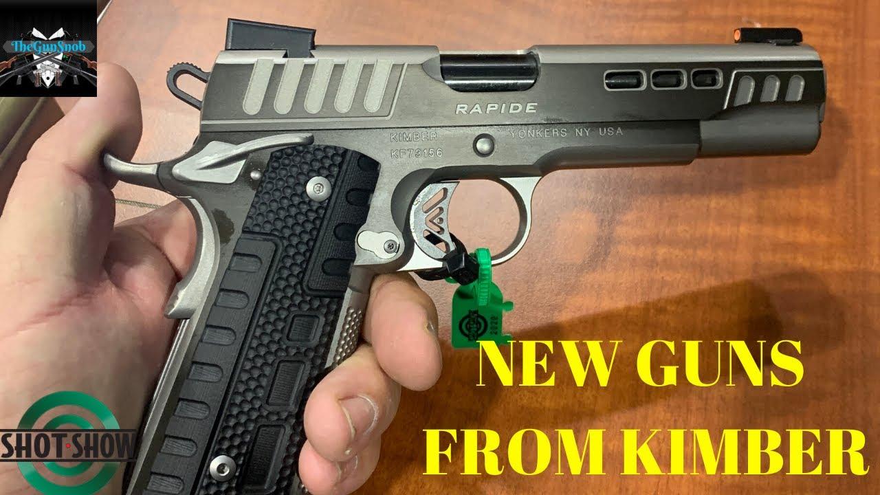 New Handguns From Kimber For 2020 SHOT Show