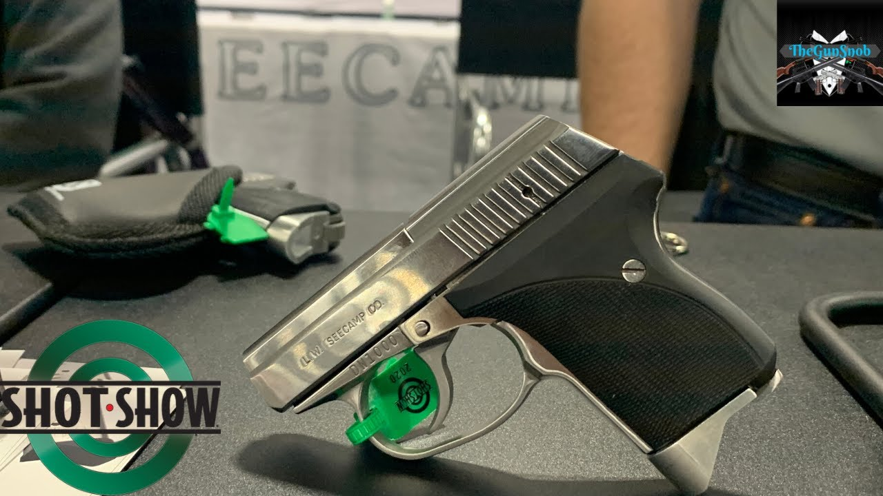 Tiny Pistols from Seecamp, SHOT Show 2020