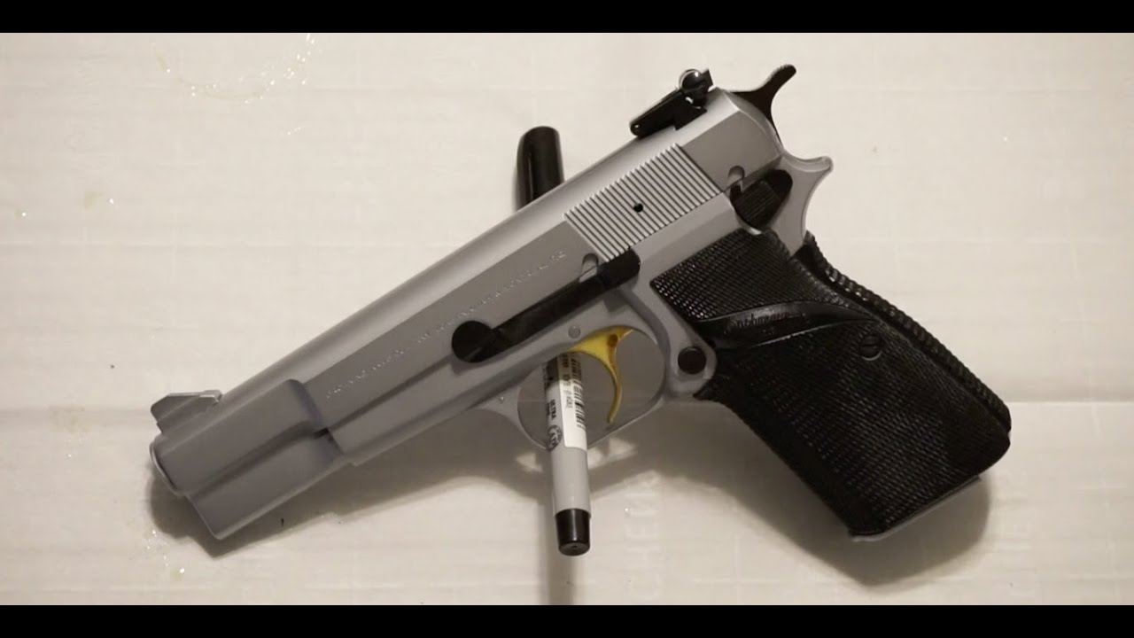 How to clean the Browning Hi Power