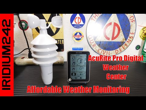 Prepper Weather Monitor   AcuRite Pro Digital Weather Center
