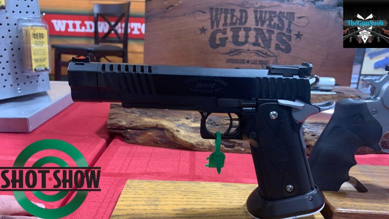 Wild West Guns JWC pistol from SHOT Show 2020