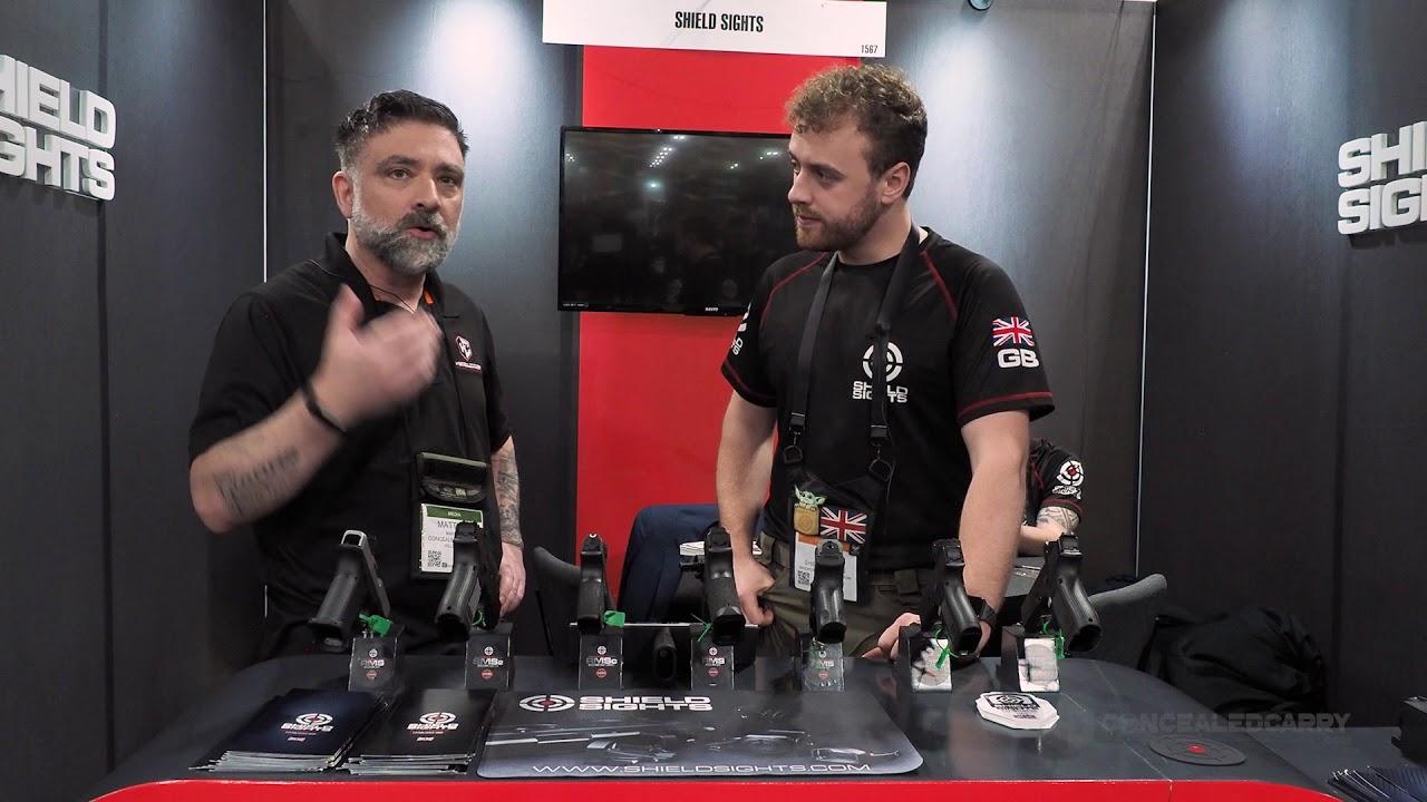 Shield Sights New RMSw Reflex Minisight - SHOT Show 2020