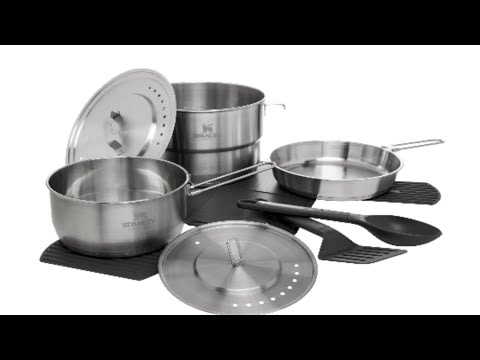 NEW for 2020! Stanley Adventure Camp PRO cookset - Even Heating! Very Nice!!