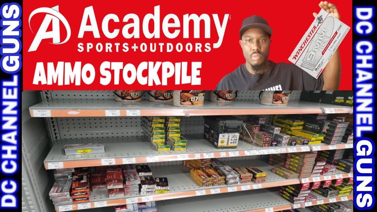 Academy Sports & Outdoors Ammunition Stockpiling    GUNS