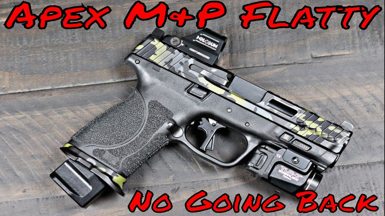 Apex Version 2 M&P Flat Faced Trigger The Best Yet!