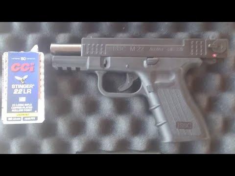 ISSC M-22 22LR pistol: the cheap G44
