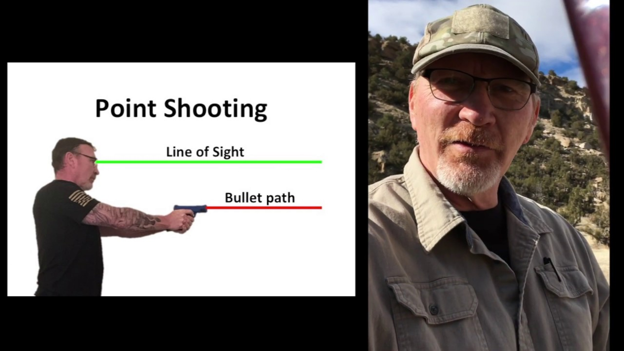 Glock 17 - Point Shooting versus Aimed Shooting - why practice both.