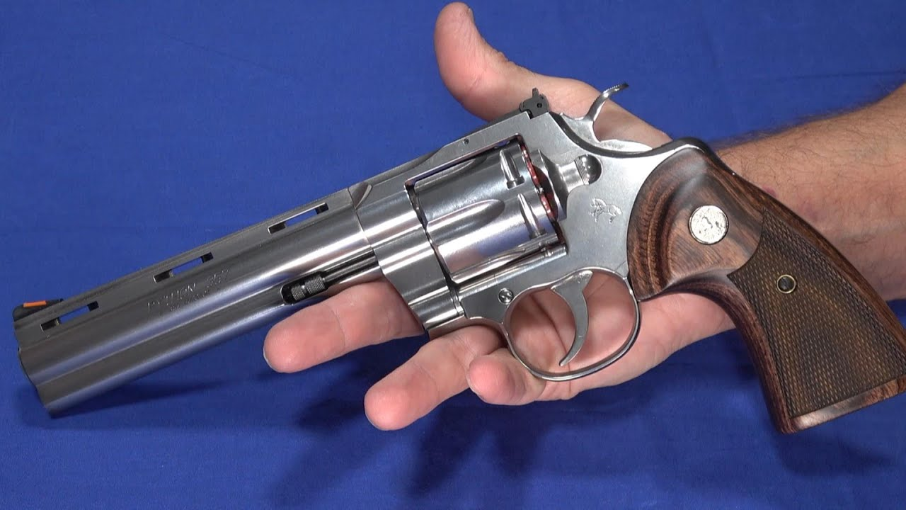 Colt Python 2020 - Most Sought After 357 Revolver Returns