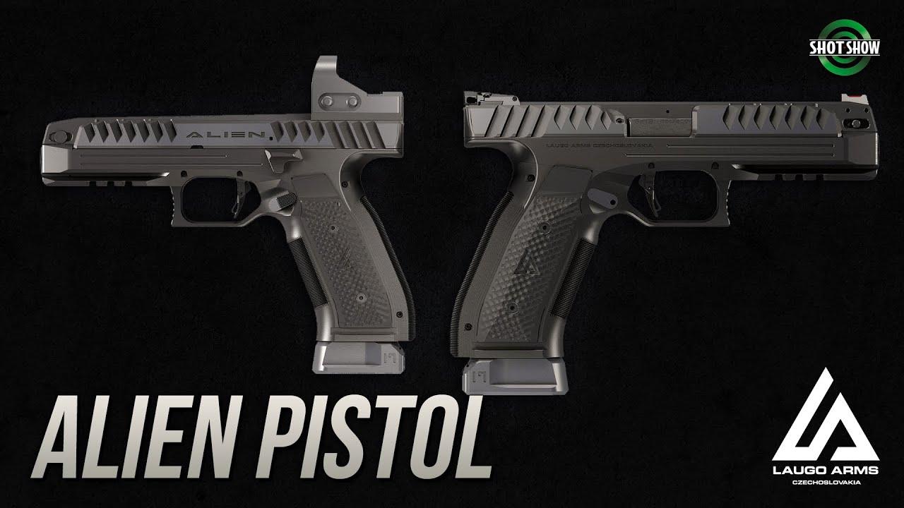 Laugo Arms Alien Pistol - Best of SHOT Show 2020