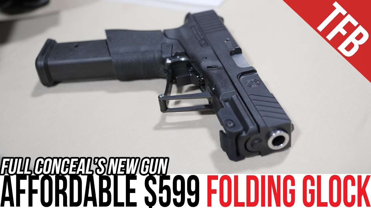 A $599 Folding Gen 3 Glock: The Full Conceal M30S6 [SHOT Show 2020]