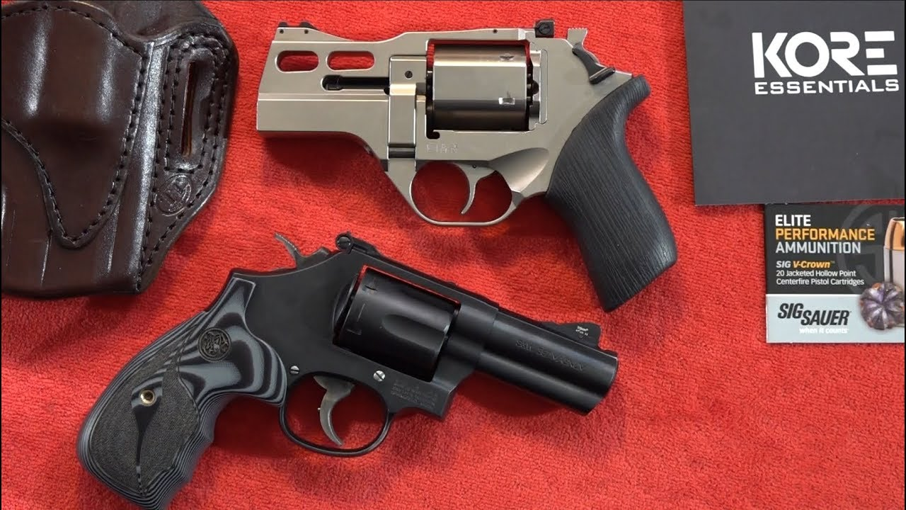 Chiappa Rhino 30DS vs Smith & Wesson Model 19 Carry Comp