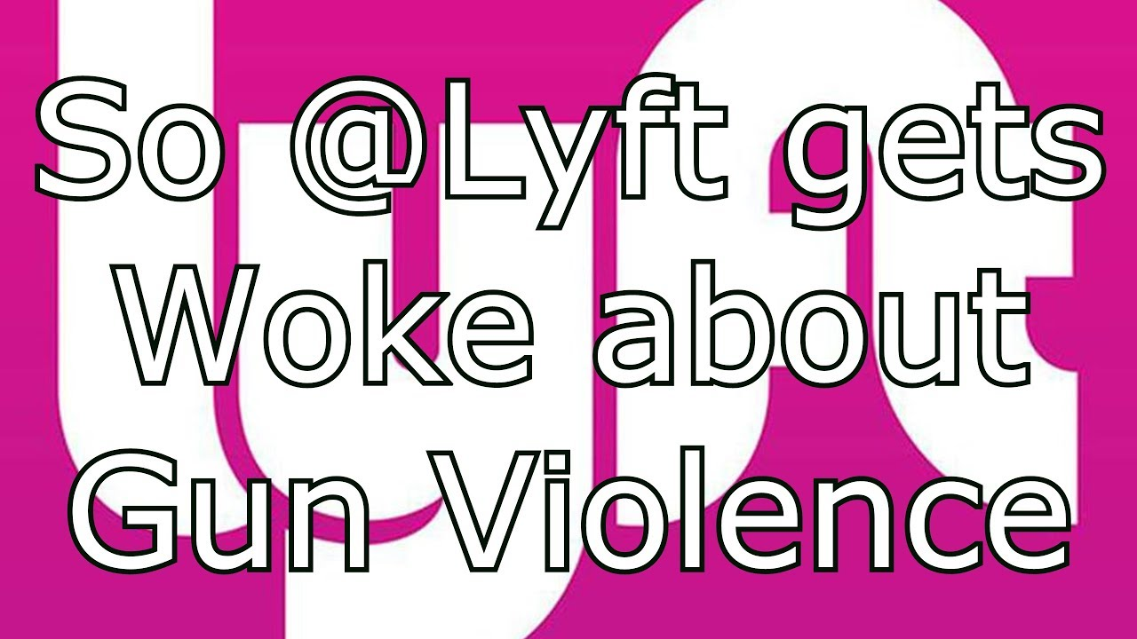 So @Lyft gets woke about gun violence Via @RunNGunsNews