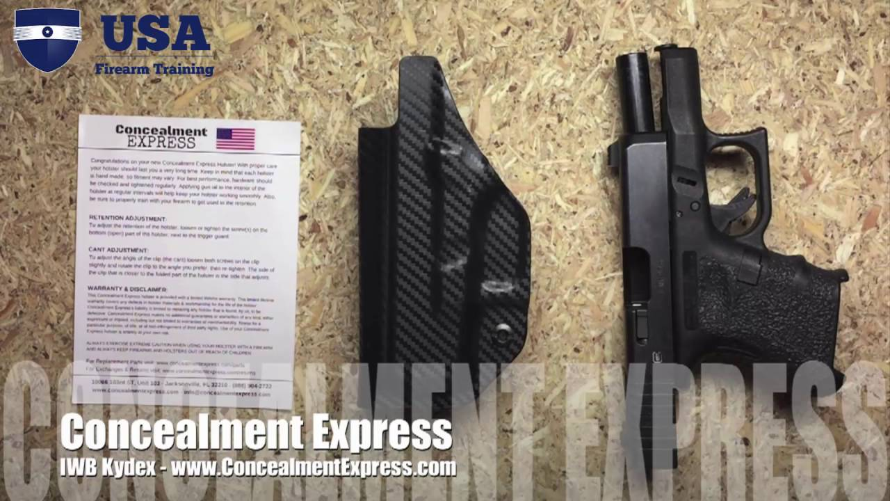 Concealment Express - Holster Review