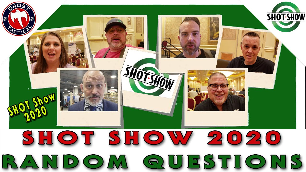 Random Questions With COMPLETE STRANGERS!  SHOT Show 2020