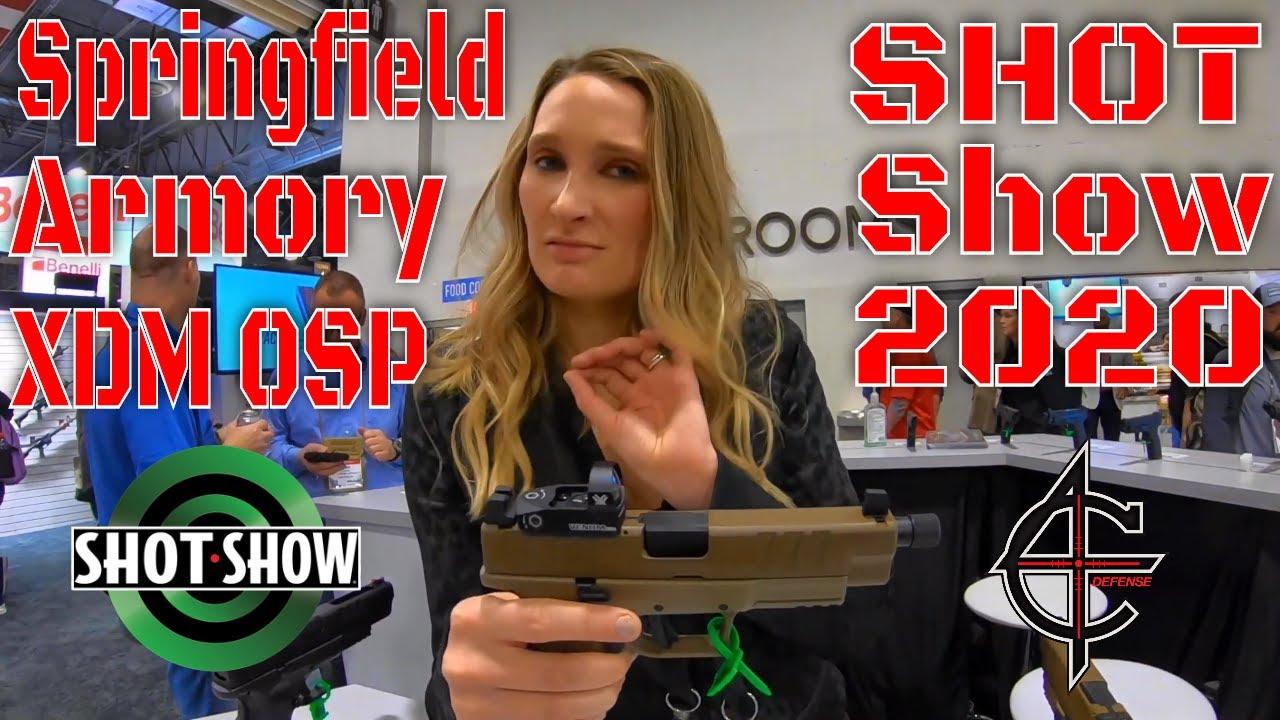 Springfield Armory XDM OSP SHOT Show 2020