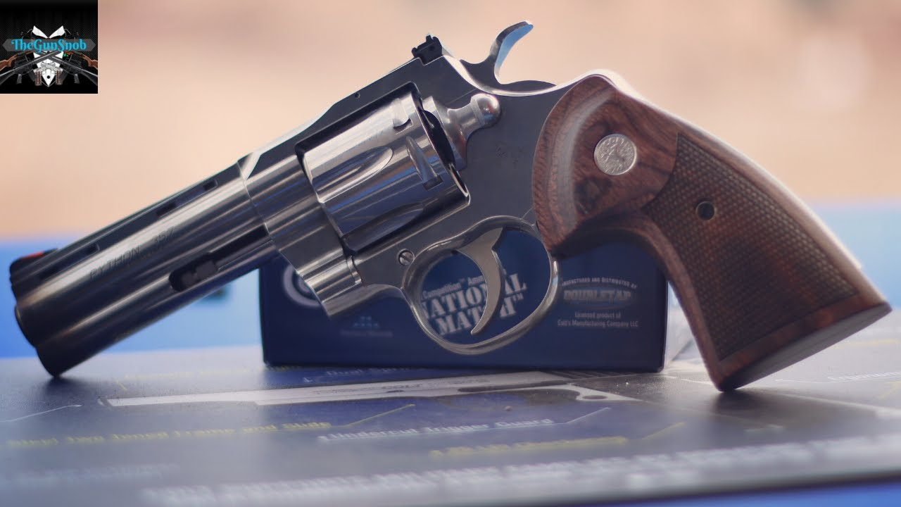 New Colt Python from SHOT Show range day