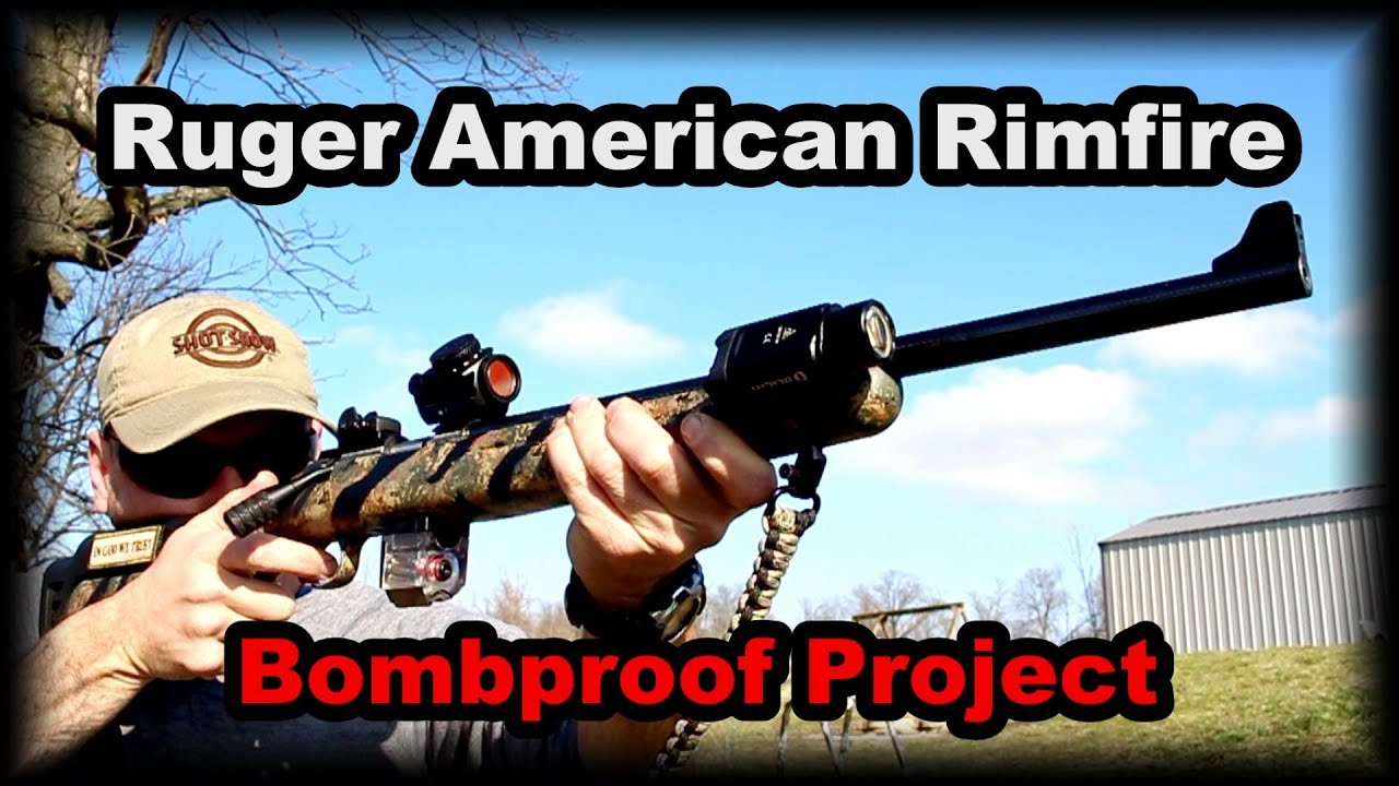 Ruger American Rimfire Project Rugged Reliable Versatile