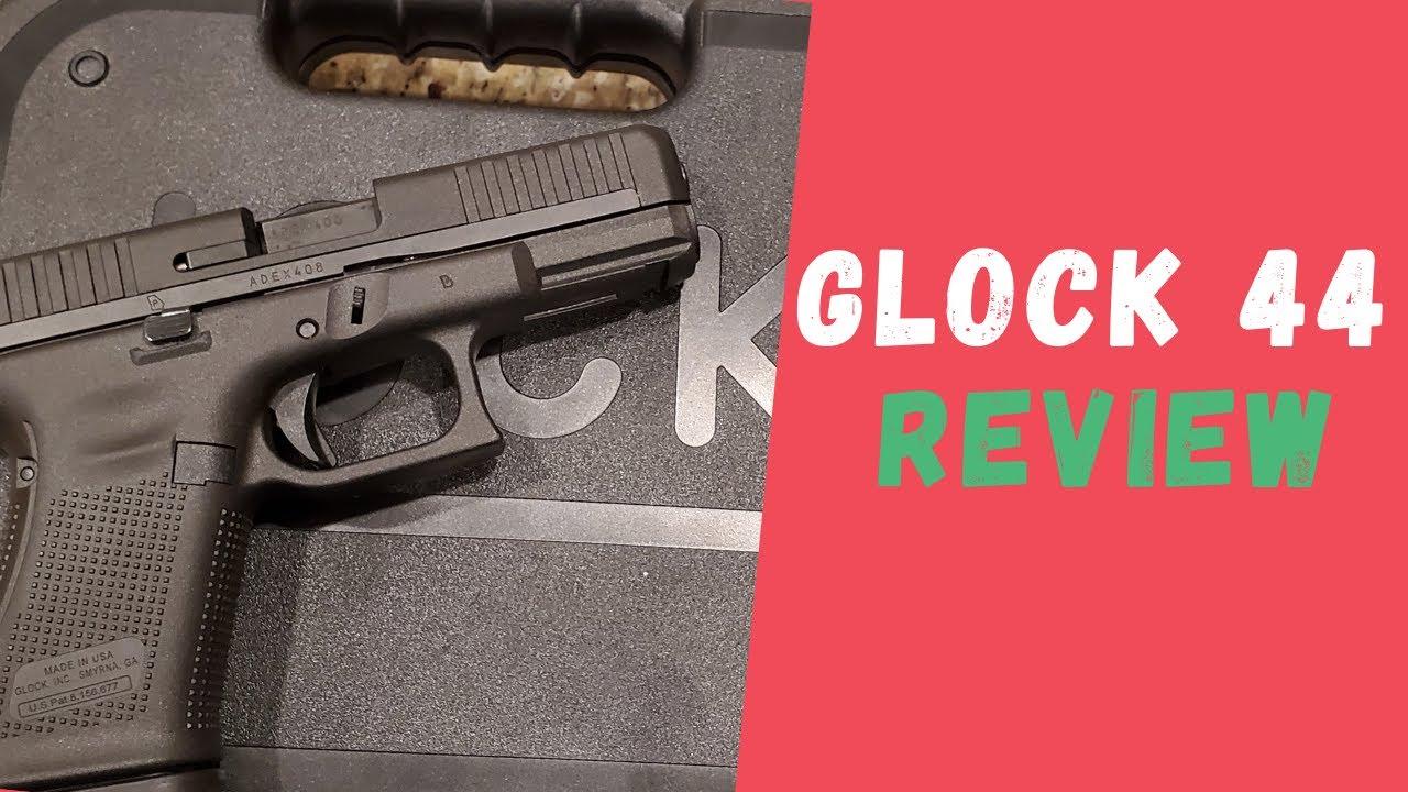 Glock 44 22lr Review   It's Plinking Fun!