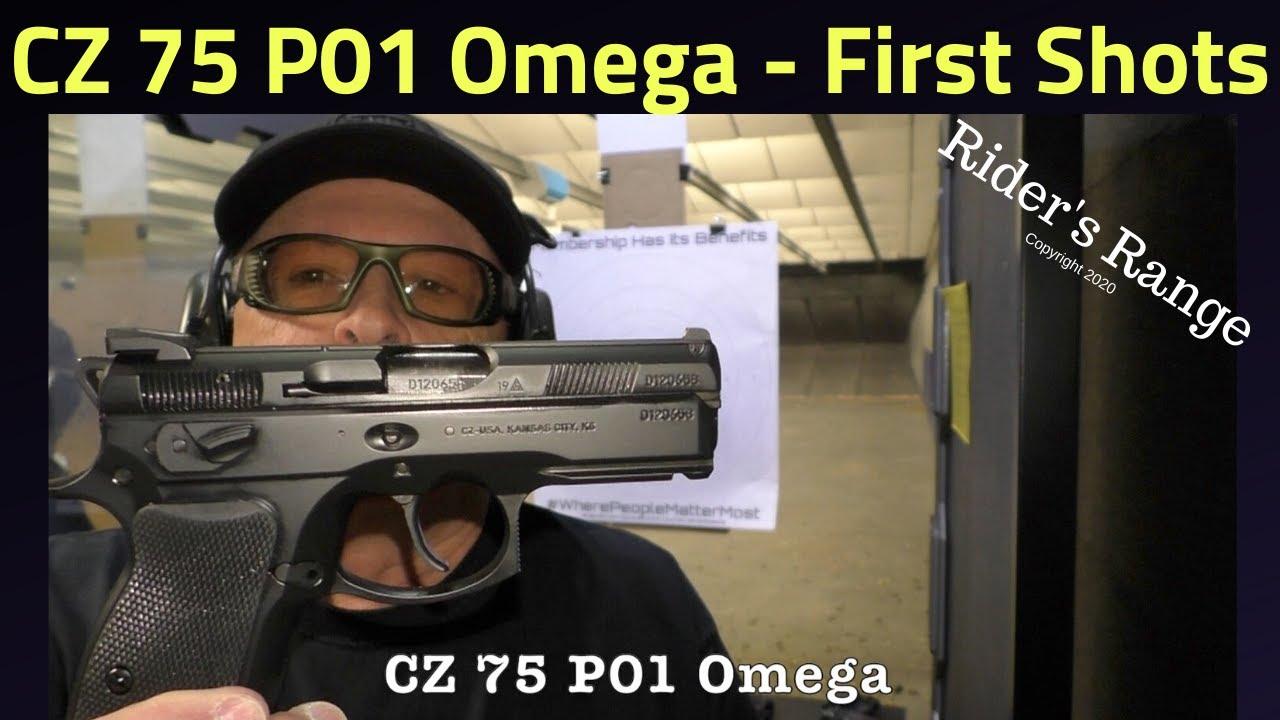 CZ 75 P01 Omega - First Shots on Rider's Range
