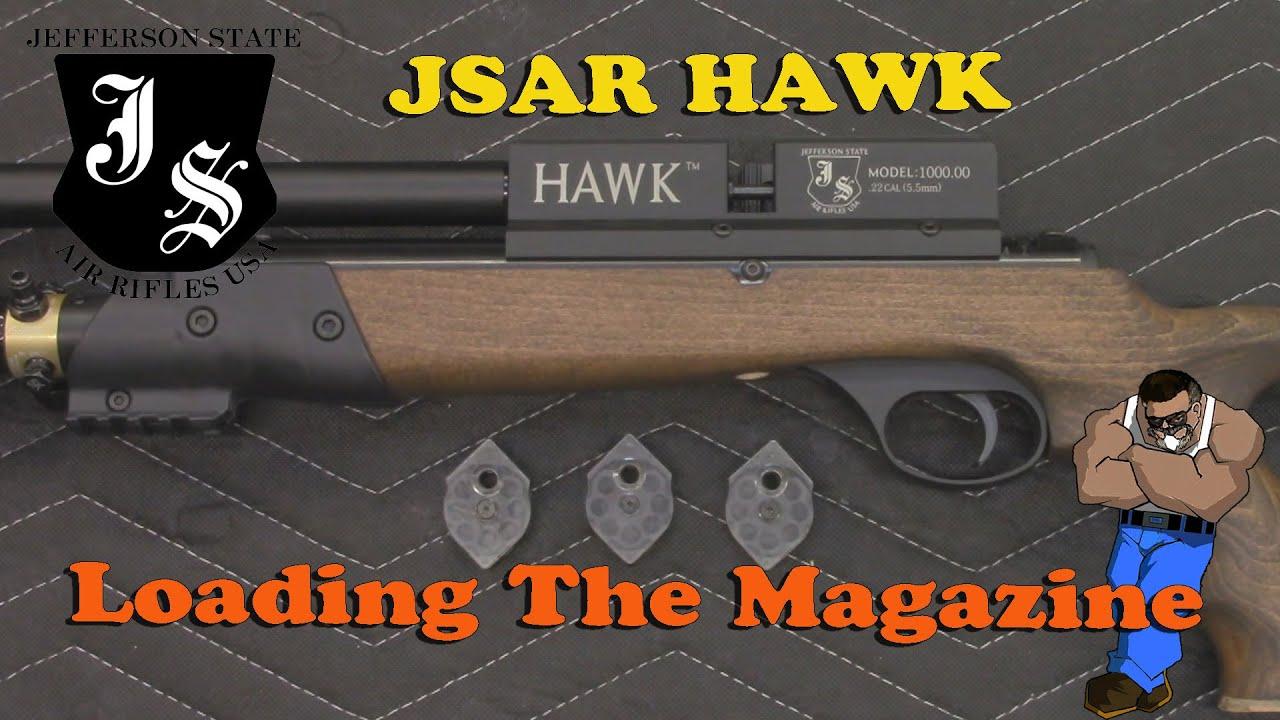 Tutorial: JSAR HAWK Loading The Magazine