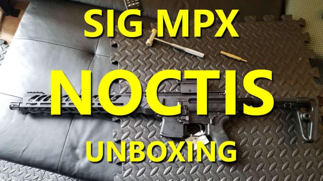 SIG MPX NOCTIS - Cabela's / Bass Pro Exclusive gen 3?