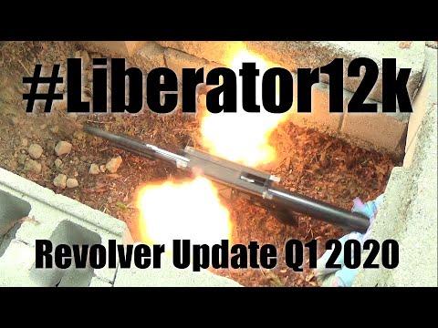 #Liberator12k | 32 - Revolver Progress Q1 2020
