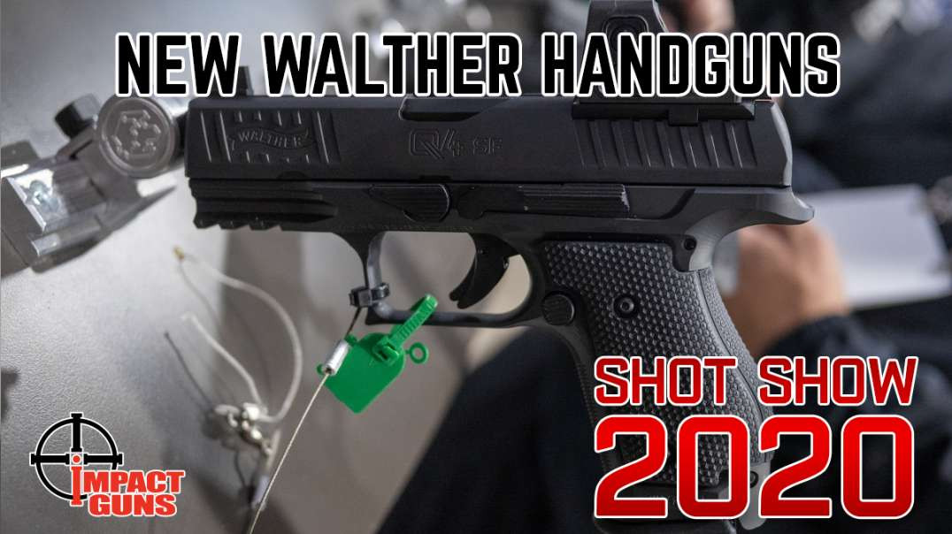 New Walther Pistols - SHOT Show 2020 - CCP M2 .380 & Q4 Steel Frame