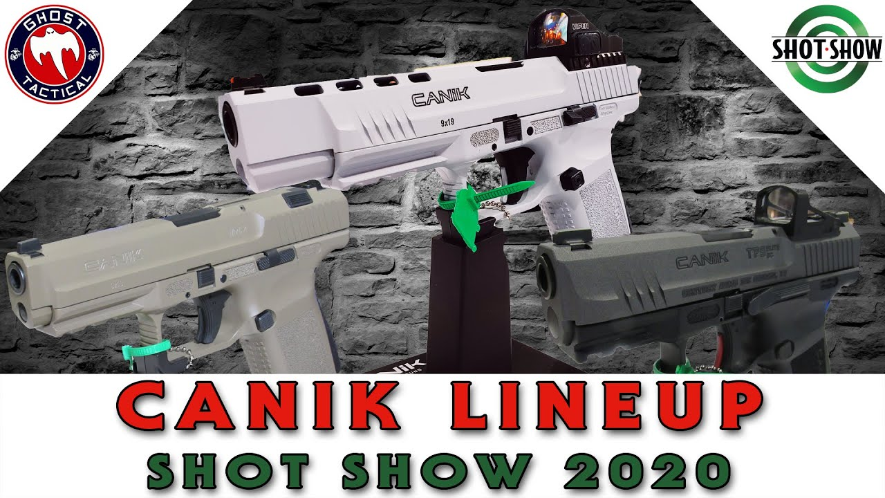 Canik 2020 Lineup of Guns