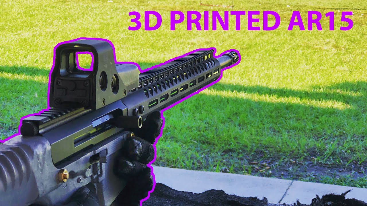 3D Printed AR15: A Reliable Alternative to 80% Lowers? (Tested in 2020)