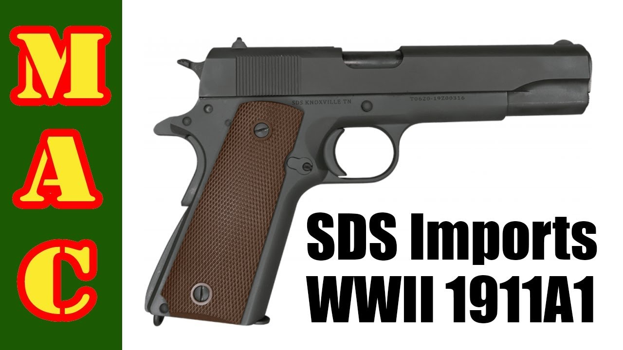 New SDS 1911A1 WWII era clone