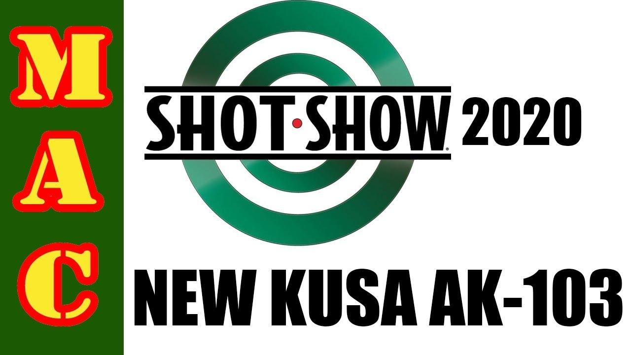 New! Kalashnikov USA AK103