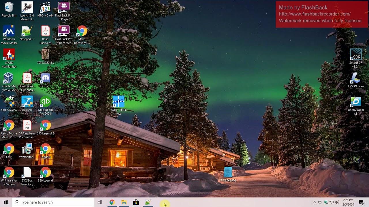 Using Dos Programs in Windows 10 via the vDOS Environment (FoxPro 2.6)