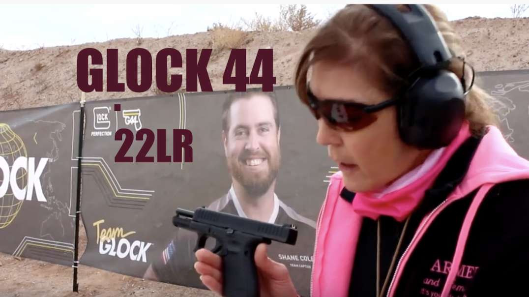 ARMED and Feminine - Glock 44 .22lr