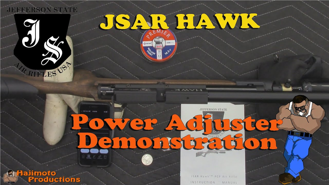 Tutorial: JSAR HAWK Power Adjustment