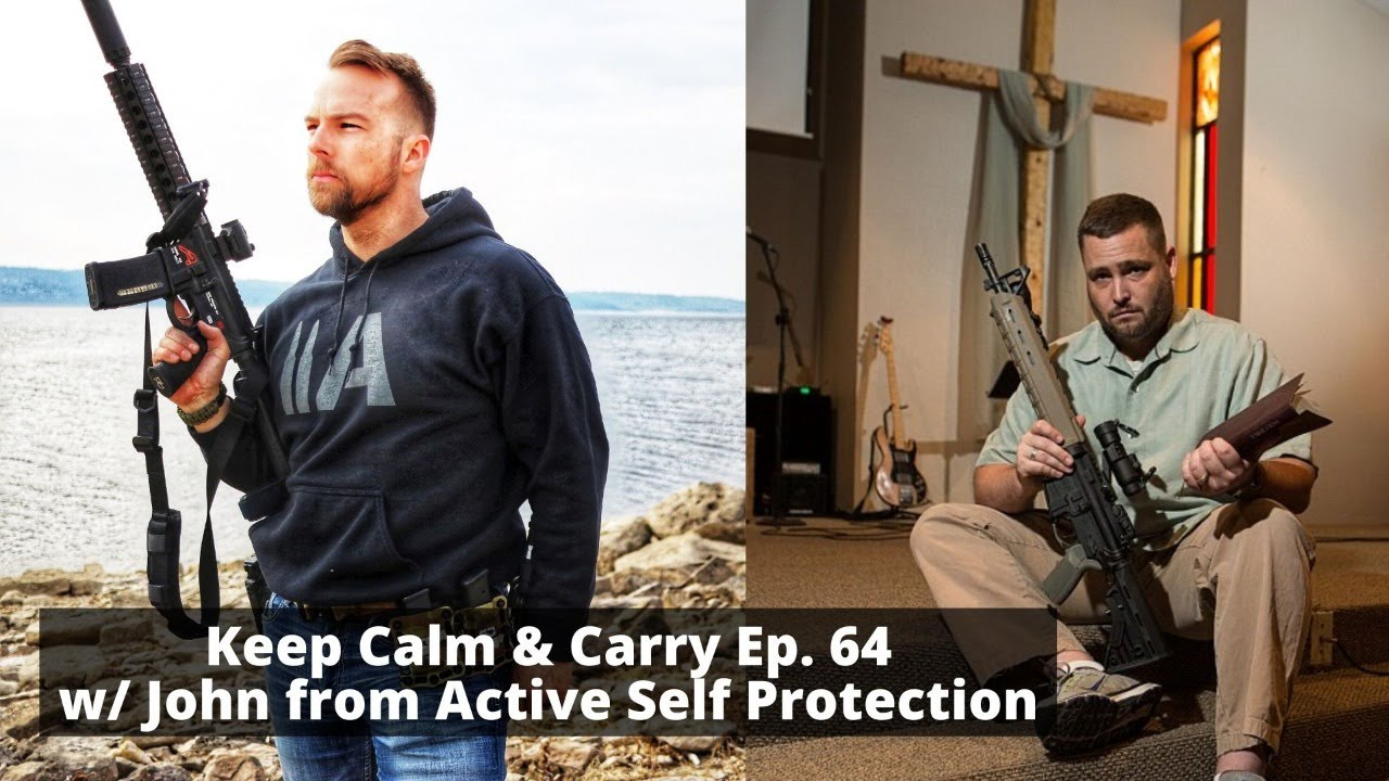Active Self Protection, get some! KC&C Ep. 64 w/ John from ASP