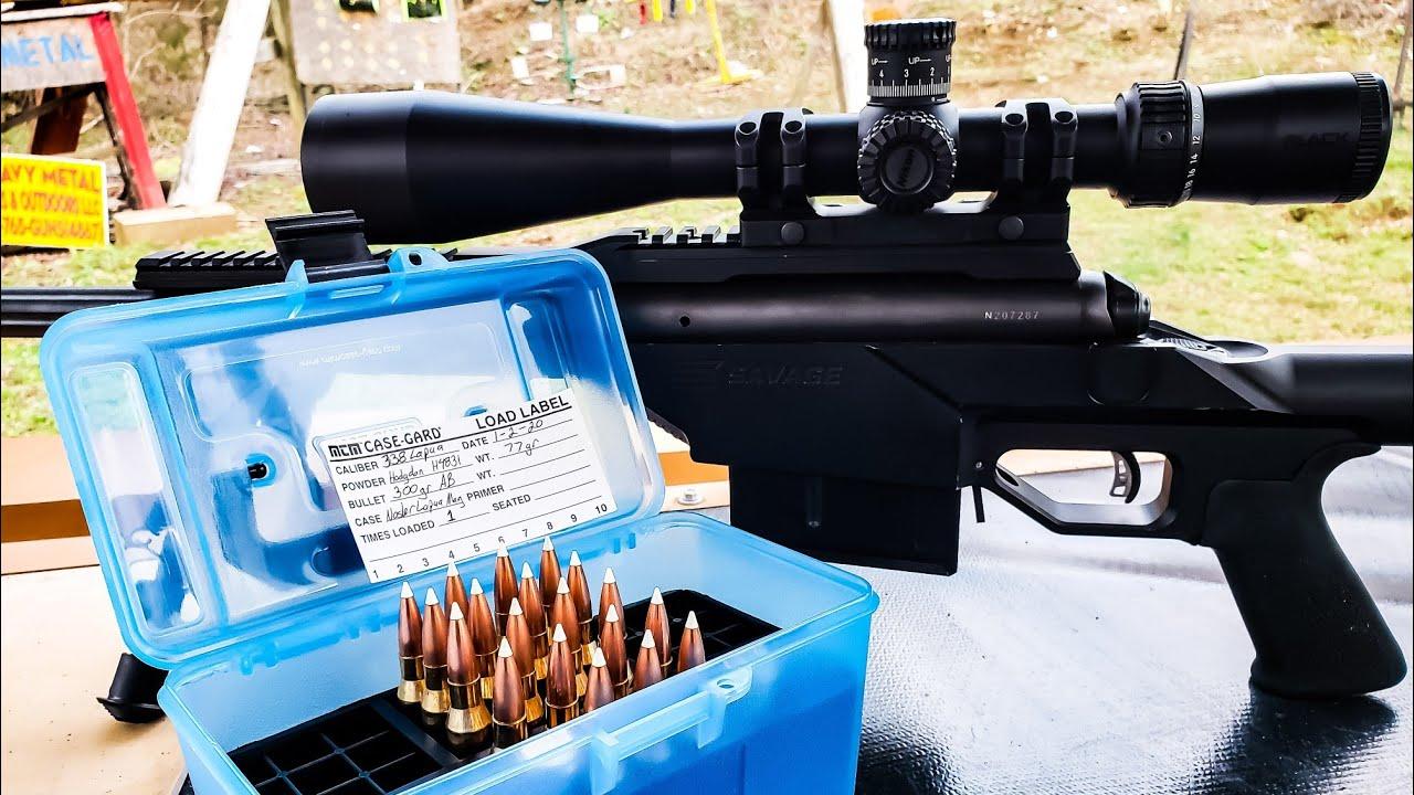 338 Lapua Handloads #338lapua #sniper