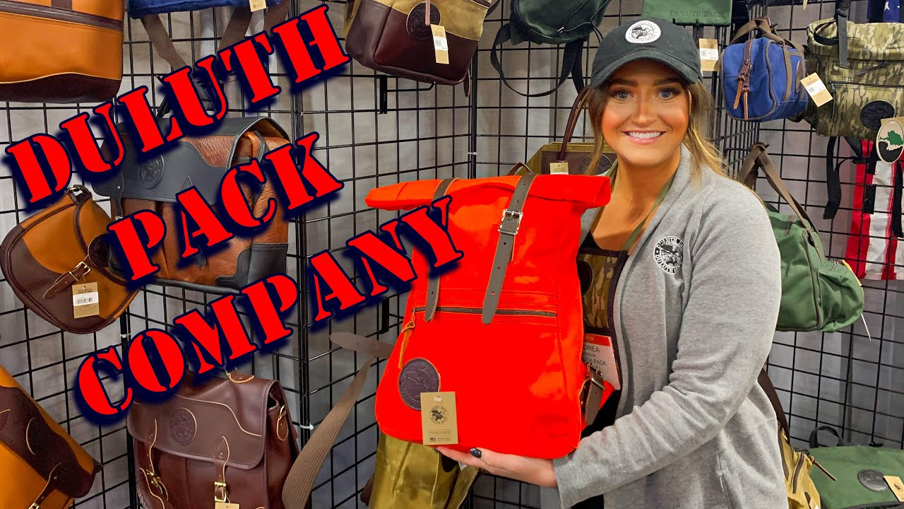 I'm All In on the Orange Duluth Pack SHOT Show 2020
