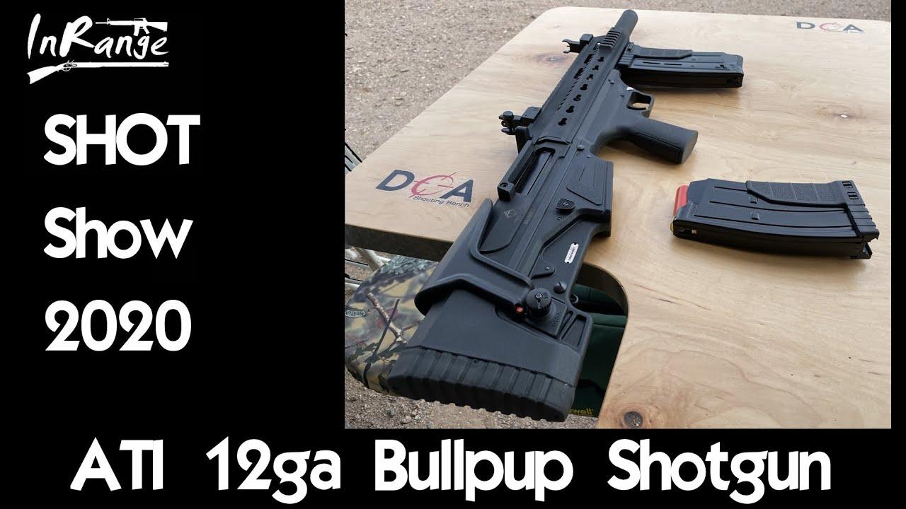 ATI 12ga Bullpup Shotgun - SHOTShow2020