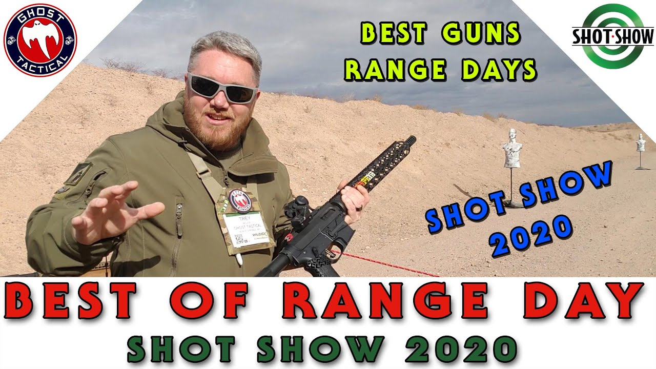 Best of Range Days Compilation:  Shot Show 2020