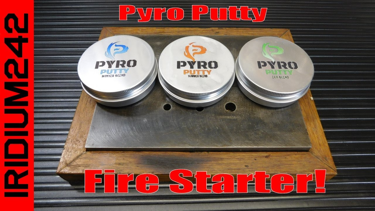 Pyro Putty   Fire Starting Power In Any Weather!