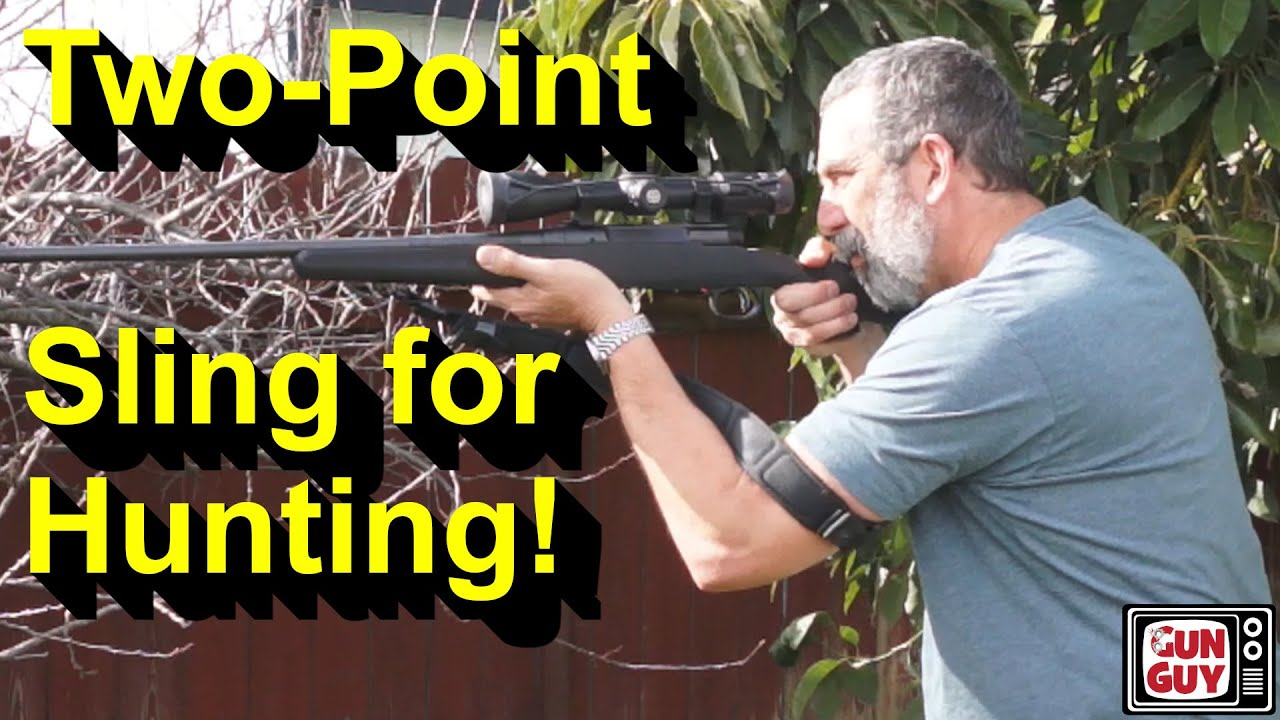 Is a two-point tactical sling on a hunting rifle a good thing?