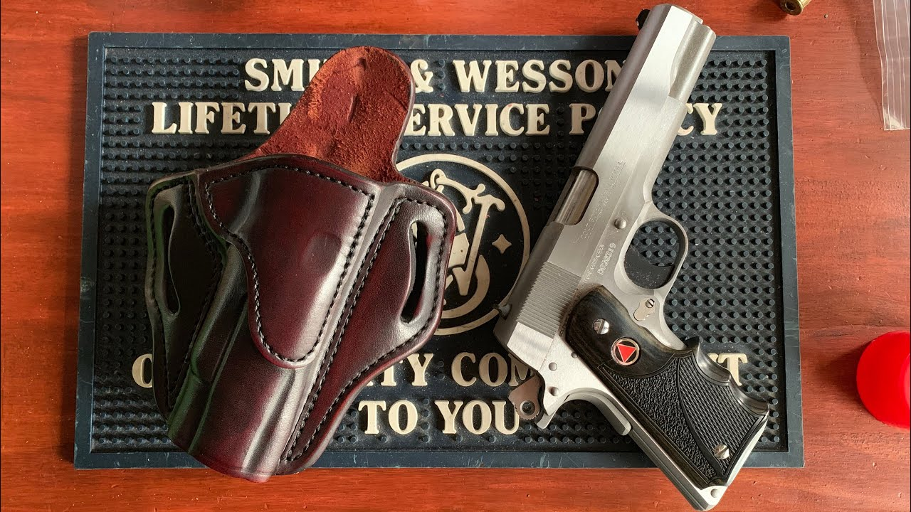 Full review of the 1791 OWB leather belt holster (feat. Colt delta elite)