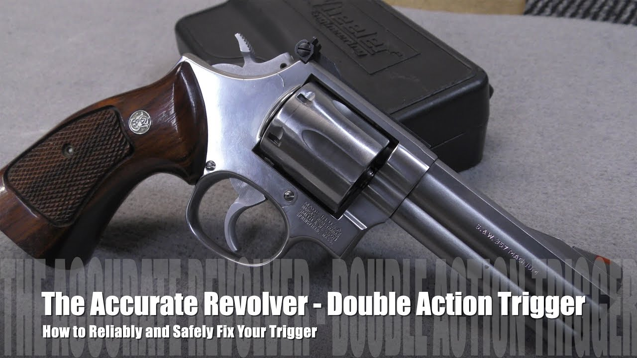 The Accurate Revolver -  How to Maintain & Repair Smith & Wesson Triggers