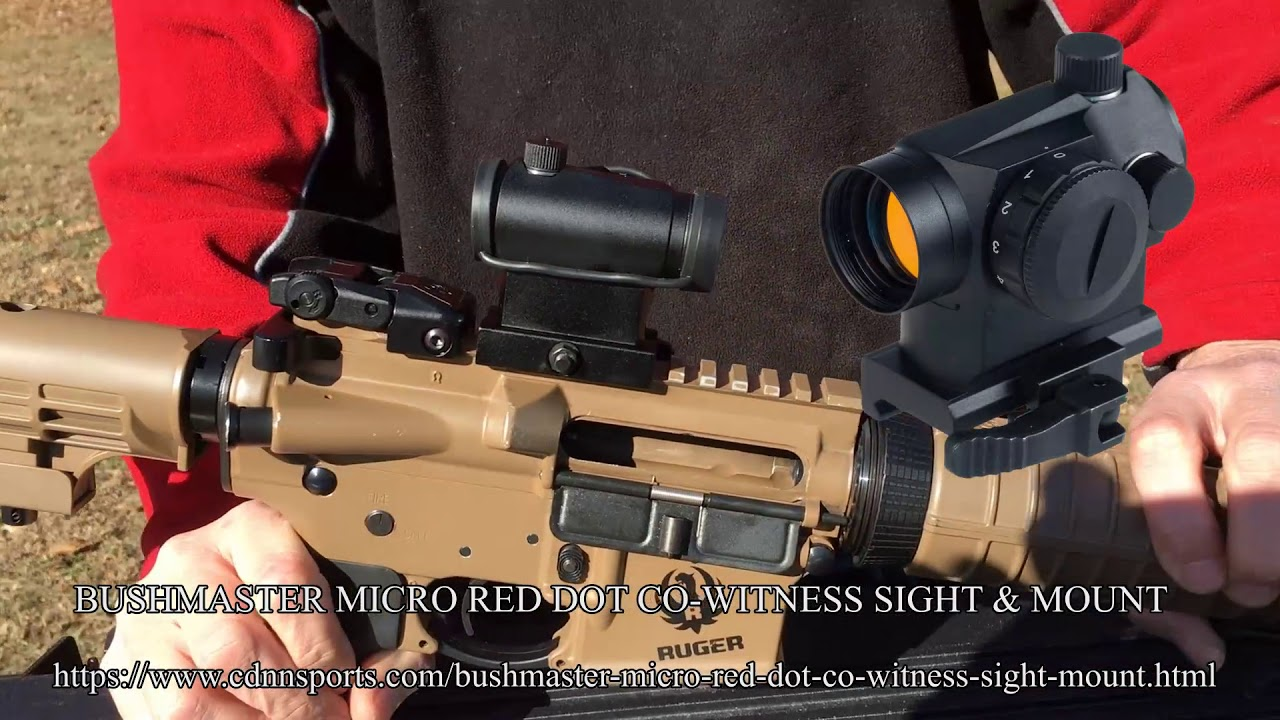 Deric's new red dot sight and destroying the old one