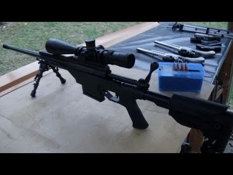 338 Lapua Magnum One Handed