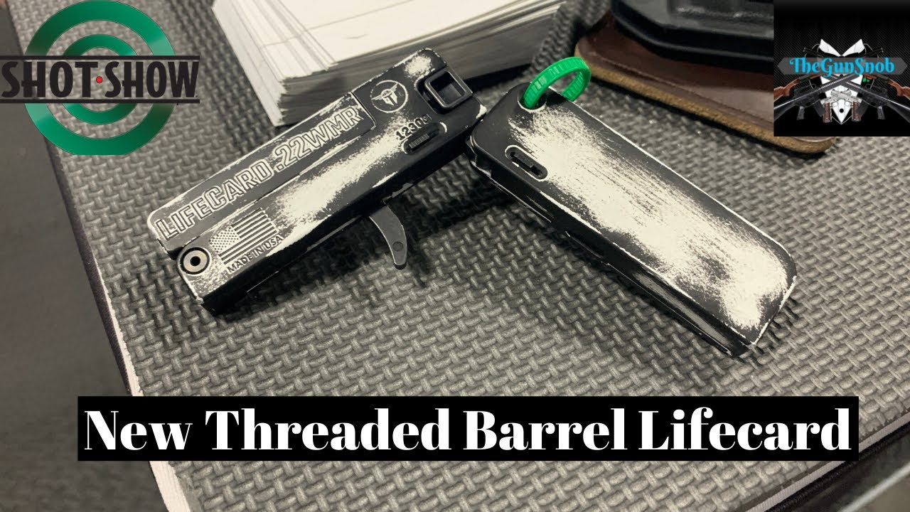 New from Trailblazer Firearms suppressor ready Lifecard Pistol from SHOT Show