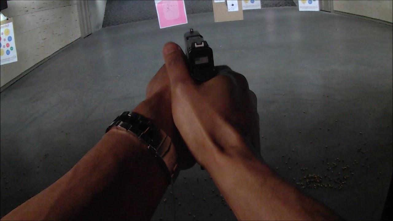 Glock 43X Mozambique Drill