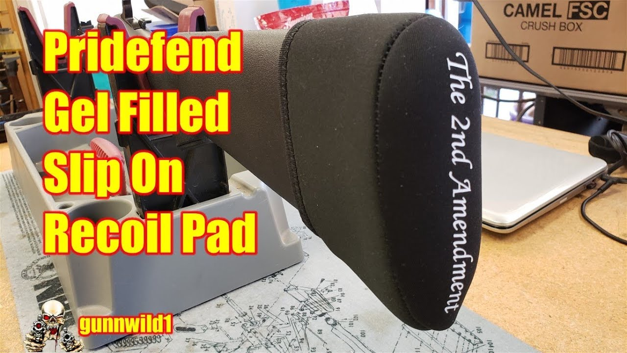 Pridefend Gel Filled Recoil Pad